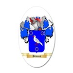 Bevans 35x21 Oval Wall Decal
