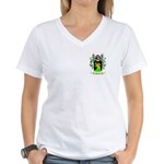 Beutler Women's V-Neck T-Shirt