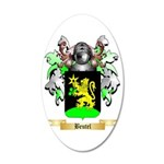 Beutel 35x21 Oval Wall Decal