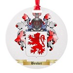 Beuker Round Ornament