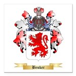 Beuker Square Car Magnet 3