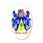 Beuerle 35x21 Oval Wall Decal