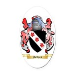 Bettyes Oval Car Magnet