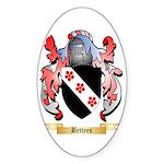 Bettyes Sticker (Oval 50 pk)