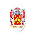 Bettsworth Oval Car Magnet
