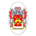 Bettsworth Sticker (Oval 10 pk)