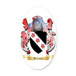 Bettson Oval Car Magnet