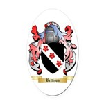 Bettison Oval Car Magnet