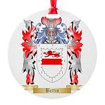 Bettin Round Ornament