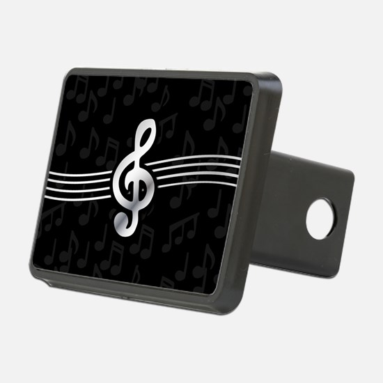 Stylish clef on musical no Hitch Cover