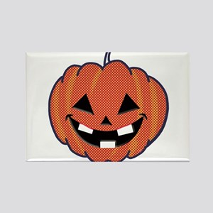 Smiley Halloween Rectangle Magnet