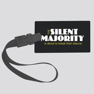 Silent Majority Large Luggage Tag