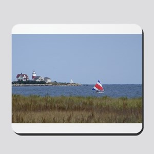 Sailing the Stratford Lighthouse Mousepad