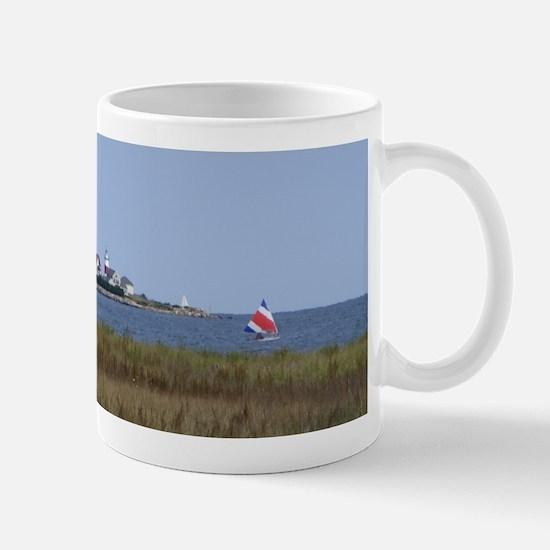 Sailing the Stratford Lighthouse Mug