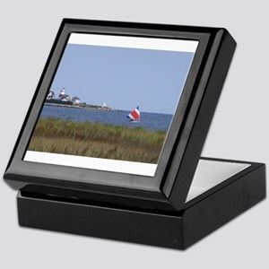 Sailing the Stratford Lighthouse Keepsake Box