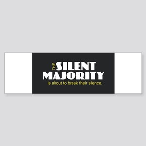 Silent Majority Bumper Sticker