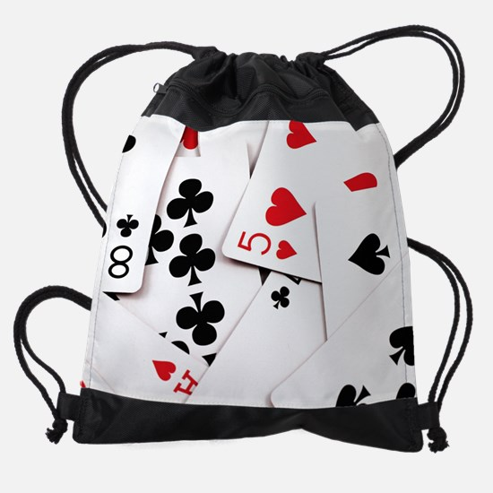 Cute Cribbage Drawstring Bag