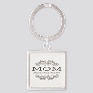 Mom 2013 Vintage Quality Service Keychains