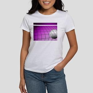 Purple Volleyball Net T-Shirt
