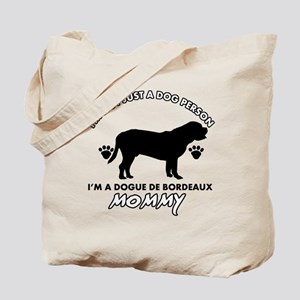 Dogue de Bordeaux dog breed designs Tote Bag