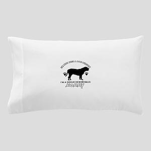 Dogue de Bordeaux dog breed designs Pillow Case