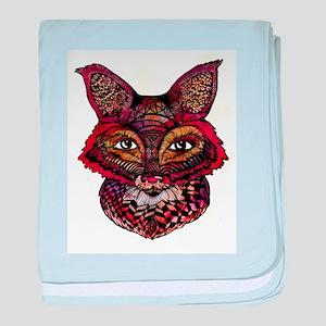 Fox Patterns baby blanket