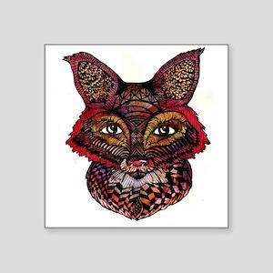 Fox Patterns Sticker
