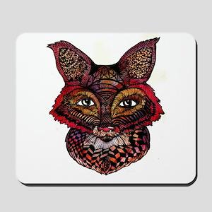 Fox Patterns Mousepad