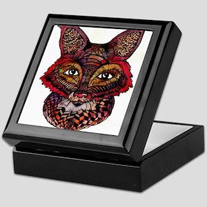 Fox Patterns Keepsake Box