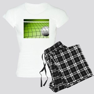 Green Volleyball Net Women's Light Pajamas