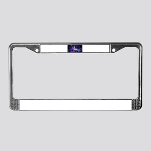 Merlin the Web Wizard License Plate Frame