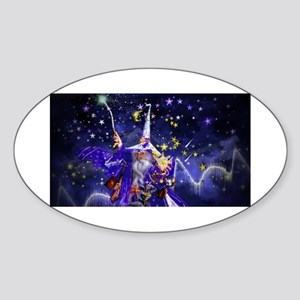 Merlin the Web Wizard Sticker