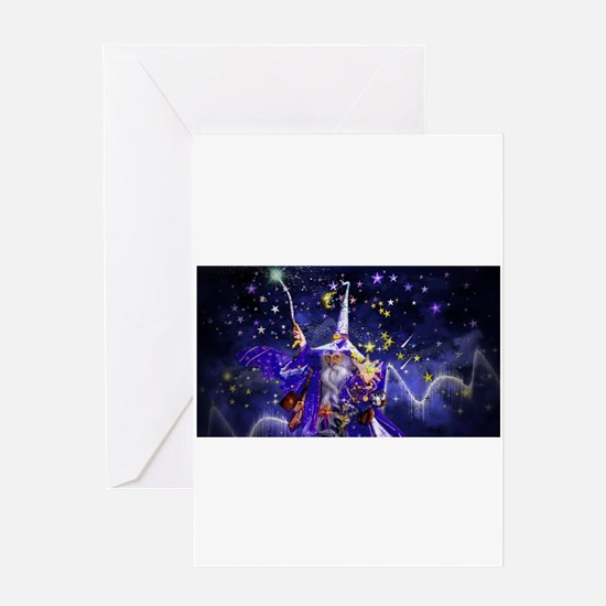 Merlin the Web Wizard Greeting Card