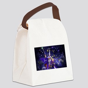 Merlin the Web Wizard Canvas Lunch Bag