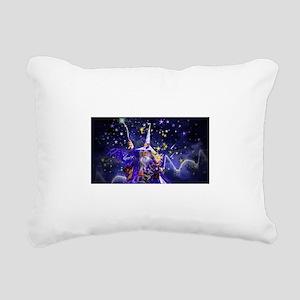 Merlin the Web Wizard Rectangular Canvas Pillow