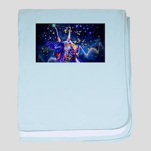 Merlin the Web Wizard baby blanket