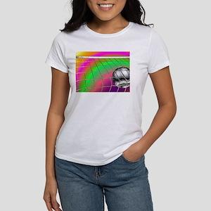 Rainbow Volleyball Net Women's T-Shirt