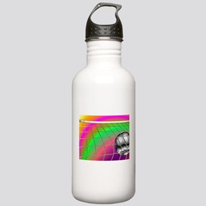 Rainbow Volleyball Net Stainless Water Bottle 1.0L