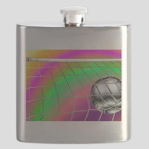 Rainbow Volleyball Net Flask