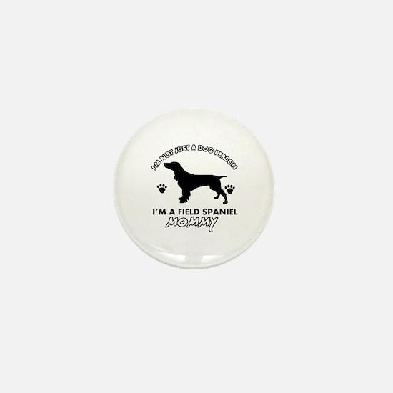 Field Spaniel dog breed designs Mini Button