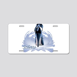 stiletto Aluminum License Plate