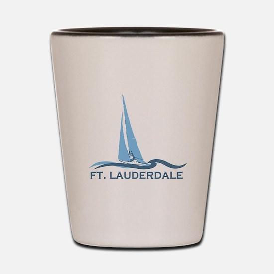 Fort Lauderdale - Sailing Design Shot Glass