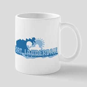 Fort Lauderdale - Waves Design. Mug