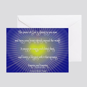 ACIM Greeting Card: The Peace of God