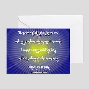 ACIM Greeting Card: The Peace of God