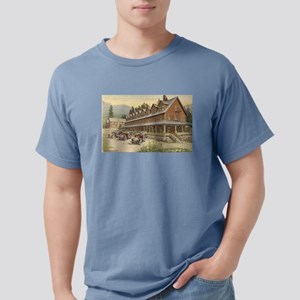 Paradise Inn Mt Rainier Mens Comfort Colors Shirt