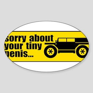 Giant SUV Rectangle Sticker