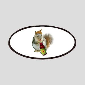 Squirrel Acorn Beer Patches