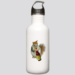 Squirrel Acorn Beer Stainless Water Bottle 1.0L
