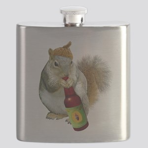 Squirrel Acorn Beer Flask